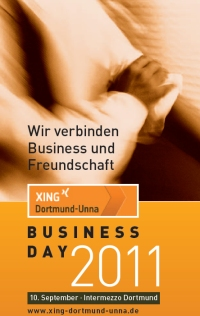 Flyer zum XING DO UN Businessday 2011